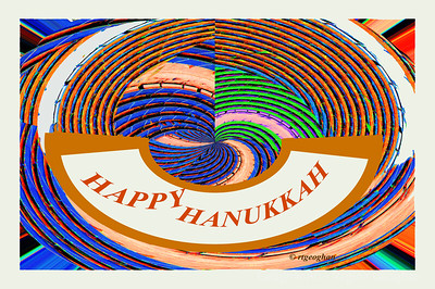 Day 342: Hanukkah Greetings - Dec 8.   To wish everyone who is celebrating a very happy holiday at the start of this wonderful Festival of Lights tradition.
