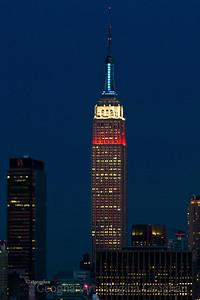 Day 51: NY Skyline - President's Day Colors - February 20, 2012