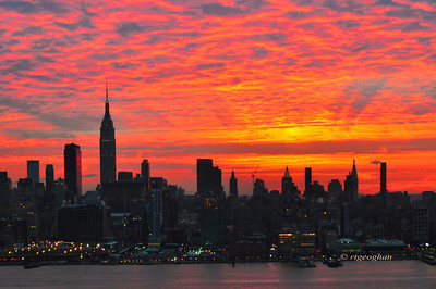 Day 346: New York Skyline at Dawn - December 13.