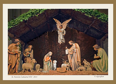 Day 357: Nativity Scene St Patrick's Cathedral NYC - December 24.  On this Chrismas Eve - I'm wishing everyone all of the joy, love, hope and good will that is the spirit of Christmas.