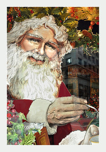 Day 358: Vintage  Santa- December 25.  Merry Crhistmas - have a wonderful day.