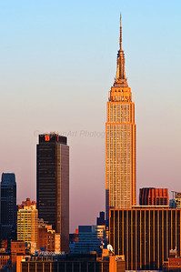 Day 69: New York Sundown - Mar 10.  So nice to see the sunshine yesterday and a beautiful sundown.