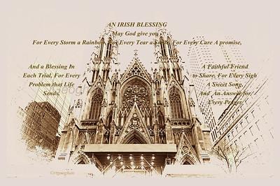 Day 76: St Patricks Cathedral NYC - Mar 17. Happy Saint Patrick's Day everyone.