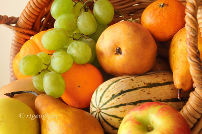 "Day 328: Thankful - November 25.  With Thanksgiving coming up later in the week and yesterday being a 'T' alphabet challenge day, I've decided to make the theme of  my posts this week ""things that I am thankful for"".  Today a thanks for the beautiful, fresh and delicious healthy produce that has been available to me via local New Jersey farmers and our Farmer's Market."