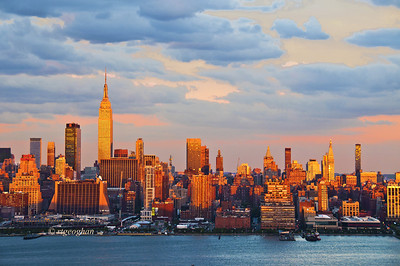 Day 243: NYSkyline at Sundown- September 4.