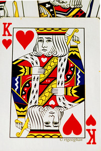 Day 261: King Playing Card - September 22.  K is for Kings today.  Happy Sunday!