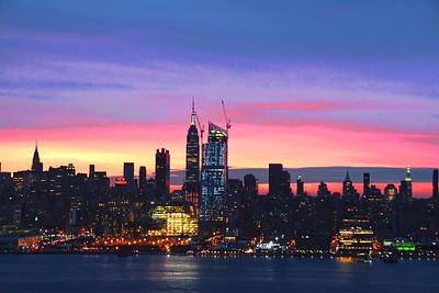 NY Skyline - December Dawn