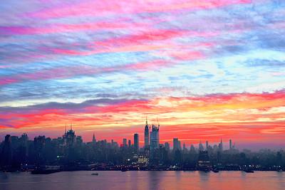 NY Skyline-December Dawn