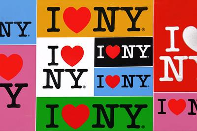 I Love NY Sign