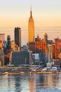 NY Skyline-Empire State Building Sundown