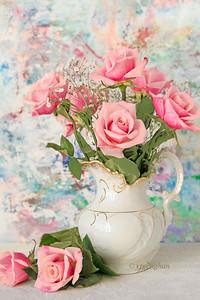 Still Life Rose Bouquet