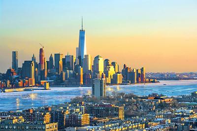 Winter Freeze_ NY-NJ and Hudson River