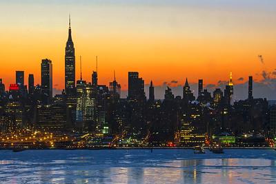 NY Skyline Dawn