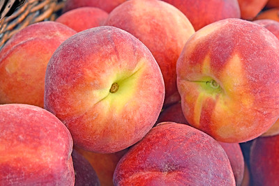 Day 164: Peaches - June 15.  One of my favorite summer fruits.  Peaches are beginning to show up in farm market stands.  Although it is weeks too soon for New Jersey peaches, I'm happy to have some nice, sweet, juicy options from other states for now.