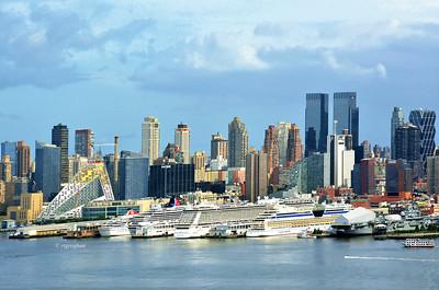 NYSkyline and Cruise Ships