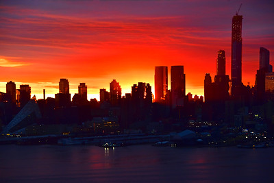 City Sunrise-NY