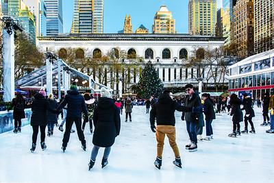 Bryant Park Ice Rink NYC