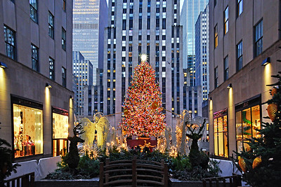 Christmas Mall at Rockefeller  Center