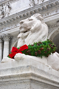 Christmas Lion NYC