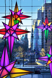 NYC Holiday Star Decorations