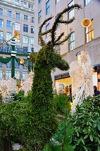 NYC Channel Garden Evergreen Reindeer