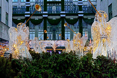 Holiday Angels at Rockefeller Center