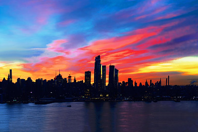 Poetry in Motion Sunrise NYC