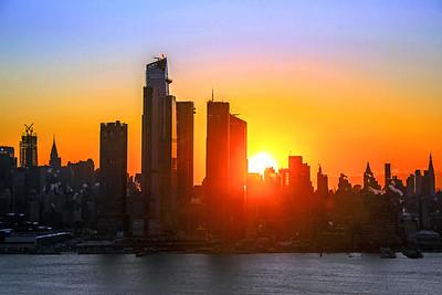 NYC Polar Vortex Sunrise