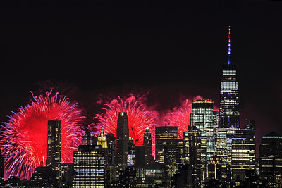 One World Trade and Fireworks