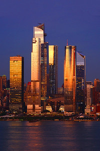 Hudson Yards Towers-Sundown Transformation