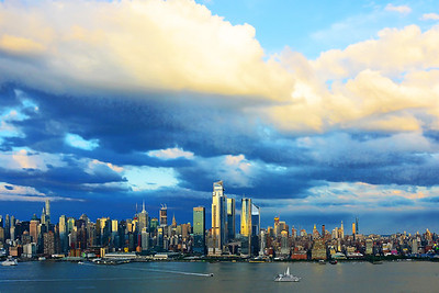 NYC Outgoing Showers at Sundown