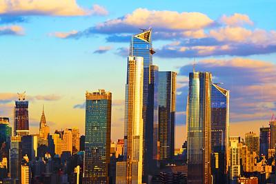 Sundown on New York City