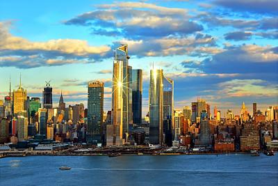NYC  Hudson Yards Starstruck at Sundown