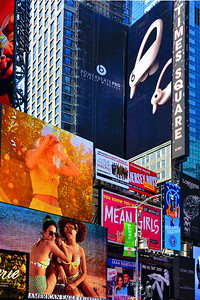 NYC Times Square Signs