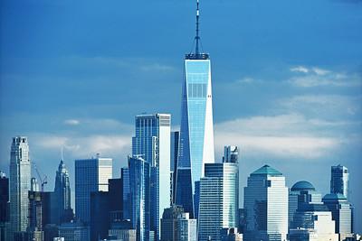 World Trade Center Hazy Day Blues
