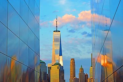Blue Sky Reflections-Empty Sky Memorial NJ