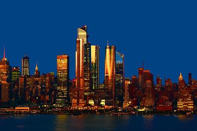 Sundown Afterglow NYC