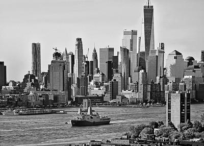 Fleet Week NYC-USS New York