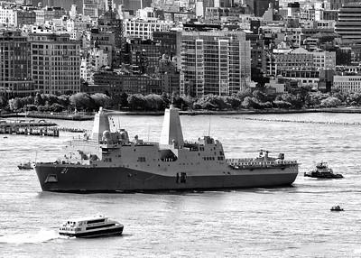 USS New York NYC Fleet Week