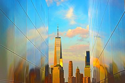 Sundown Reflections-Empty Sky Memorial NJ
