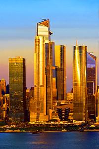 NYC Sundown Gold-Hudson Yards