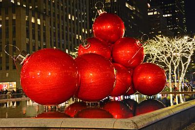 New York's Big Red Balls