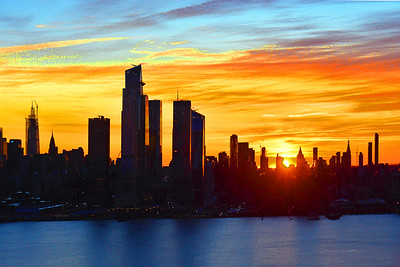 Midtown Manhattan at Sunrise