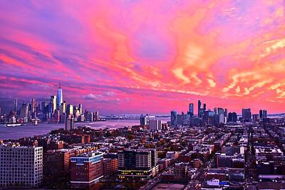Awesome Sundown Skies NJ-NY