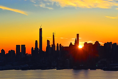 NYC West Side Sunrise