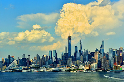 NY Skyline Complementary Colors