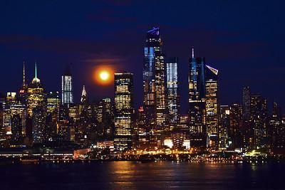 NYC Harvest Moon #2