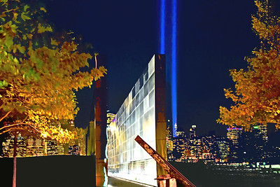 Empty Sky Memorial and Tribute Lights 9/11
