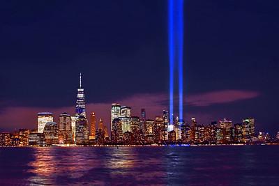 Manhattan Skyline- Tribute in Lights