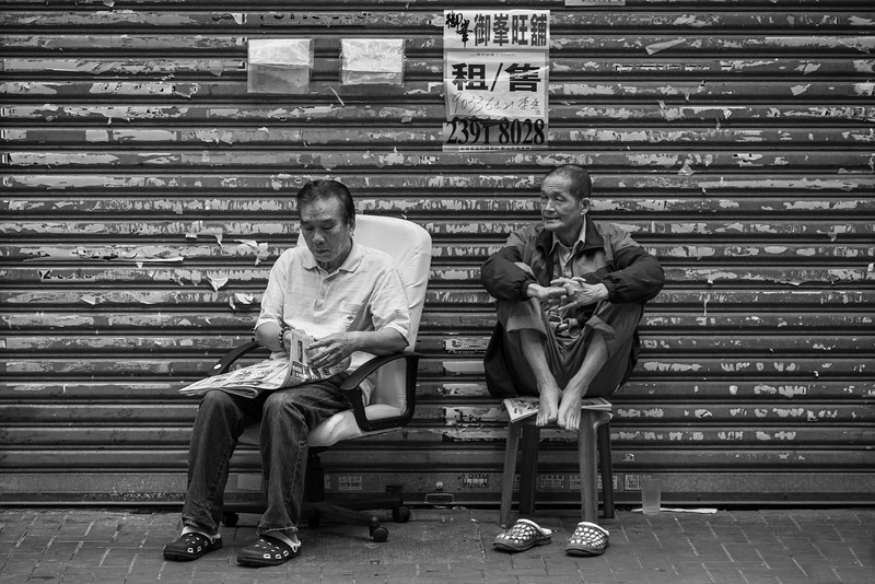 Two Chinese men